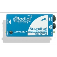 Radial StageBug SB1 Active Direct Box for Acoustic Guitar