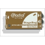 Radial StageBug SB4 Piezo DI For Use With Piezo Pickups