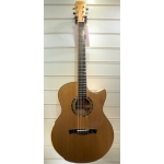 Maestro Raffles FM-CSB Custom Small Jumbo Electro Acoustic With Case