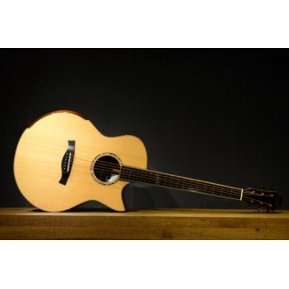 Maestro Raffles IR-CSB All Solid Wood Electro Acoustic Guitar with Case