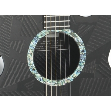 RainSong BI-WS1000N2 Black Ice Graphite Electro Acoustic With Case