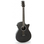 RainSong SG Shorty Gloss Graphite Electro Acoustic Guitar, Secondhand