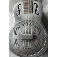 ResoVille Weeki Wachee Resonator Ukulele In Nickel Finish