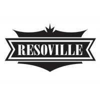 ResoVille Burbank MT12 Tri-Cone Resonator Guitar In Nickel Finish & Case