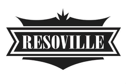 ResoVille Parkville MS12 Single Cone Resonator In Nickel Finish & Case