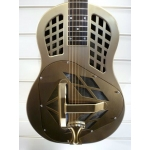 ResoVille Burbank MT12 Tri-Cone Resonator In Gold Brass Finish With Case