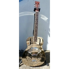 ResoVille Stamford MS12 Single Cone Resonator In Nickel Finish & Case