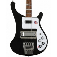 Rickenbacker 4003 USA Made 4-String Bass Guitar in Jetglo with Hard Case