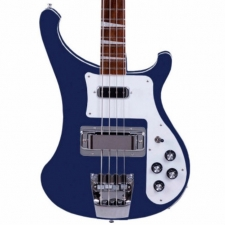 Rickenbacker 4003 USA Made 4-String Bass in Midnight Blue With Case
