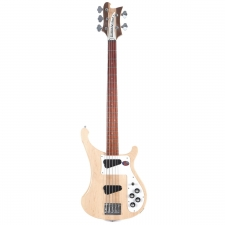 Rickenbacker 4003S/5 USA Made 5-String Bass in Mapleglo With Hard Case