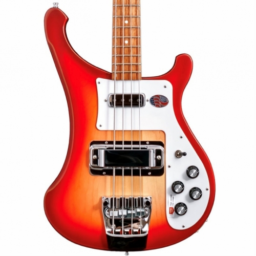 Rickenbacker 4003S USA Made 4-String Bass in Fireglo With Hard Case