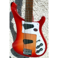 Rickenbacker 4003S USA Made 5-String Bass in Fireglo With Hard Case
