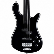 Rockbass Streamer LX4 4-String Fretless Bass in Black, Secondhand