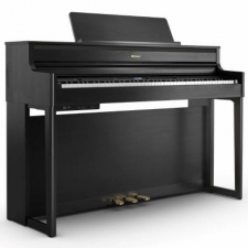 Roland HP704-CB Digital Piano in Charcoal Black