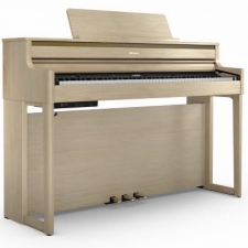 Roland HP704-LA Digital Piano in Light Oak