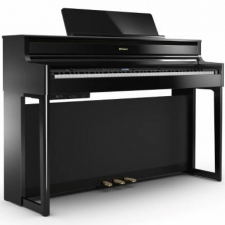 Roland HP704-PE Digital Piano in Polished Ebony