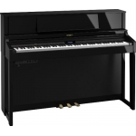 Roland LX7 Digital Upright Piano in Polished Ebony (LX7PE)