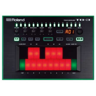 Roland TB3 AIRA Touch Bassline Bass Synth