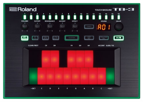 Roland AIRA TB3 - Touch Bassline Bass Synth
