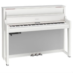 Roland LX17 Digital Upright Piano in Polished White (LX17PW)