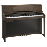 Roland LX7 Digital Upright Piano in Brown Walnut (LX7BW)