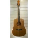 Maestro Rosetta MDT Double Top Custom Dreadnought Electro Acoustic Guitar With Case