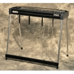 GFI S10PE EXPO Single Neck Pedal Steel Guitar with Pad in Black
