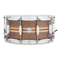 Gretsch S1-6514W-MI Walnut with Maple Inlay 6.5x14 Snare Drum