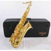VIVACE (VIA TREVOR JAMES) TENOR SAX IN GOLD LACQUER (3SKVTGL)