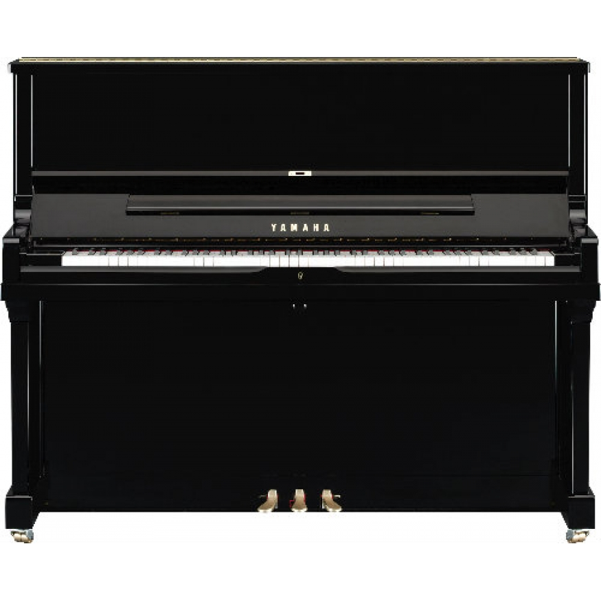 yamaha se122 silent upright piano in polished ebony at. Black Bedroom Furniture Sets. Home Design Ideas