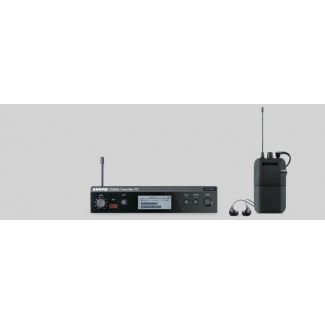 Shure PSM300 In-Ear Stereo Monitoring System With 24 Bit Digital Audio Processing
