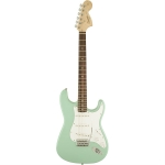 Squier Affinity Series Stratocaster, Surf Green