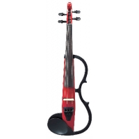 Ted Brewer Vivo 2 Electric Violin In Clear With Carbon Bow