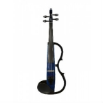 Yamaha SV130 Silent Violin in Navy Blue