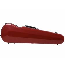 Sinfonica Shaped Violin Case For 4/4 Size Violin Cherry Red (VC009)