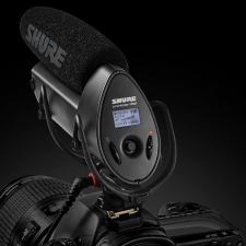 Shure VP83F Camera-Mount Condenser Microphone with Integrated Flash Recording