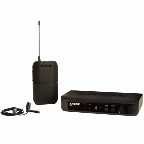 Shure BLX14/CVL Lavalier Wireless System with CVL Lavalier Condenser Mic