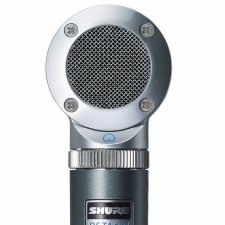 Shure Beta 181 Side-Address Condenser Microphone with Interchangeable Capsules
