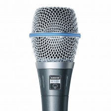 Shure Beta 87A Condenser Vocal Microphone Package (Supercardioid)