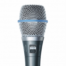 Shure Beta 87C Vocal Microphone Package (Cardioid)