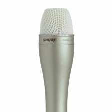 Shure SM63L Broadcast Long Handle Dynamic Mic Package In Champagne