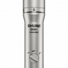 Shure SM81 Condenser Instrument Microphone Package (Cardioid)