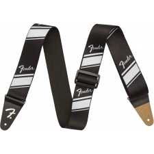 Fender Nylon Competition Stripe Strap Silver