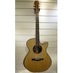 Maestro Singa IRDT Double Top Custom Medium Jumbo Electro Acoustic Guitar With Case