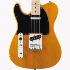Squier Affinity Series Telecaster, Butterscotch Blonde Left-handed