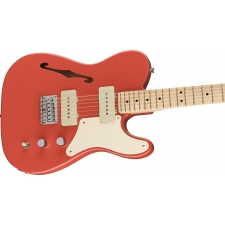 Squier Paranormal Cabronita Telecaster Thinline, Fiesta Red
