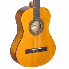 Stagg C410M 1/2 Size Nylon Strung Classical Guitar in Natural inc Bag