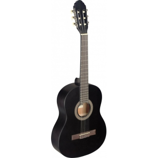 Stagg C430 3/4 Size Classical Guitar, Black