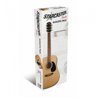 Fender Starcaster Acoustic Guitar Pack, Unboxed