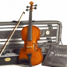 Full-size Stentor Conservatoire 2 Violin With Bow, Case & Rosin #1560A